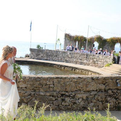 Emotionale Hochzeit am Meer
