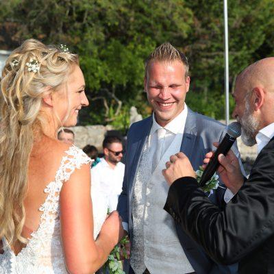 schöne und emotionale Trauung in Kroatien