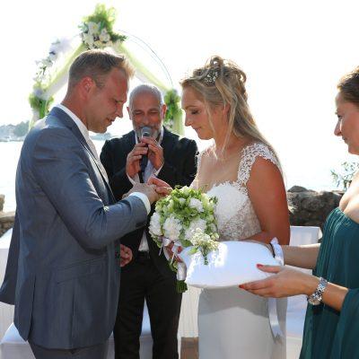 Das Brautpaar Freie Trauung Kroatien