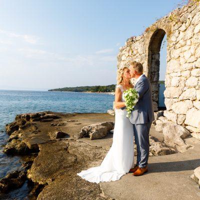 Schöne Hochzeit in Rijeka
